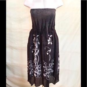Lapis Dresses & Skirts - Lapis Strapless Dress