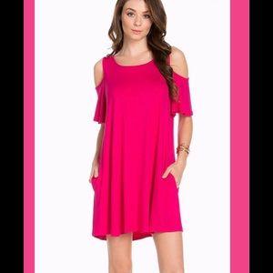 Dresses & Skirts - 🌺Susanna Cold Shoulder Swing Dress🌺