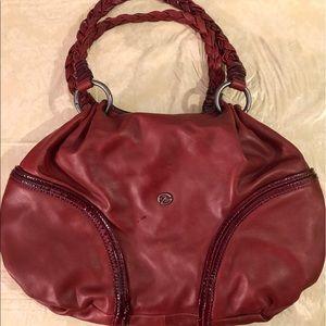 Francesco Biasia Handbags - Beautiful red soft leather handbag
