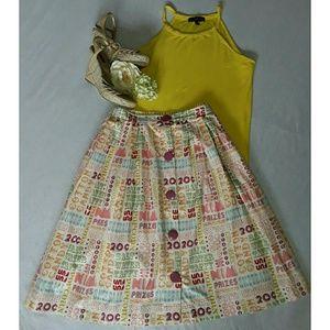 ModCloth Dresses & Skirts - ModCloth Bea&Dot  carnival print skirt 1X