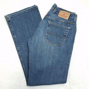 Lucky Brand Dungarees Medium Wash Straight Leg Q4