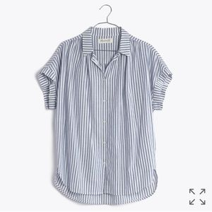 Madewell Tops - Central Shirt in Chambray Stripe for @sdee