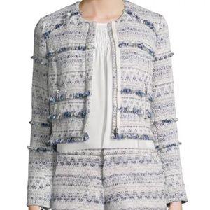 NWT Joie blue tweed jacket blazer