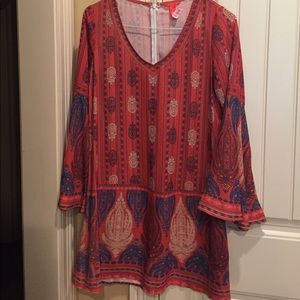 Chelsea & Violet Dresses & Skirts - Chelsea & Violet festival dress with bell sleeves.