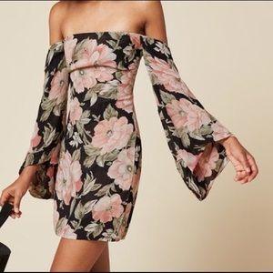 Reformation off-the-shoulder Casanova dress