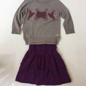 Appaman Other - 🍇SET🍇 Appaman Skirt and Top Set Size 6