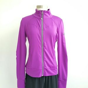 Alo Yoga Zip Up Purple Jacket