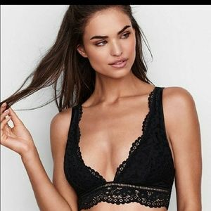 Victoria's Secret Other - 2 for $35! VS Deep V Lace Bralette