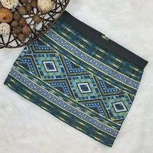 American Eagle Outfitters Dresses & Skirts - American Eagle aztec tribal print mini skirt