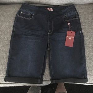 Makers of True Originals Pants - NWT Bermuda jean shorts