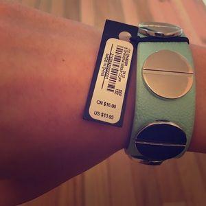 bebe Jewelry - Bebe wrap cuff leather bracelet