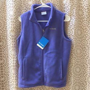 Columbia Other - Columbia child's size XL fleece vest purple