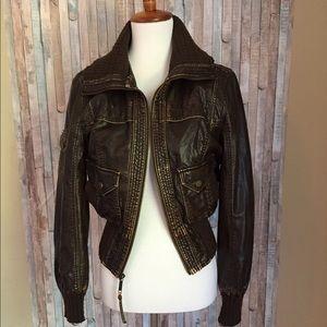 Big Chill Jackets & Blazers - Big Chill Vintage Bomber Jacket Size Medium