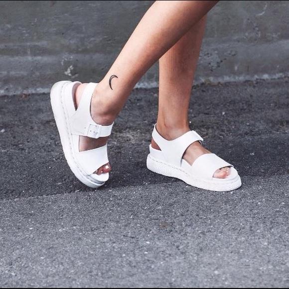Dr. Martens Shoes   Dr Martens Romi White Sandal Size Us 10 Uk 8 ... f33e4ec9fef1