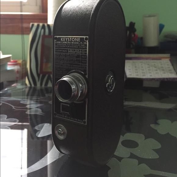 Vintage 8MM Keystone camera model K-36
