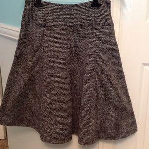 Tweed circle skirt