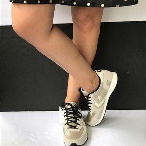 Converse Shoes - Converse Auckland Racer Ox Gold W, size unisex.