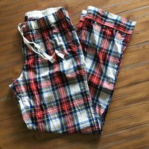 J. Crew Other - J Crew women's plaid pajama pants