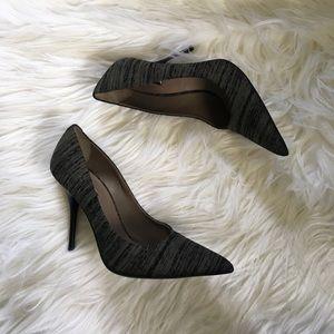 Calvin Klein Collection Shoes - New Calvin Klein COLLECTION Grey Textured Heels