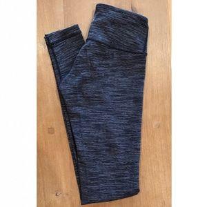 Lululemon blk/white/grey heathered legging