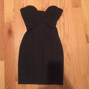 Tobi black cocktail dress
