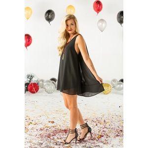 Dresses & Skirts - New Black Cape Dress