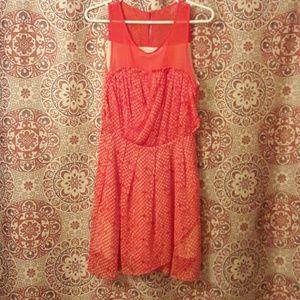 Sugarlips Dresses & Skirts - Bohemian chic flowy sleeveless dress