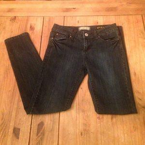 "Kardashian Kollection ""The Kourtney"" dark jeans"