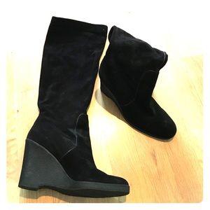 Calvin Klein Black Suede boots