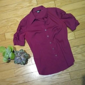 Lafayette 148 New York Tops - 💋Sale💋Lafayette148 ny button down short sleeve.