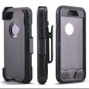 Other - iPhone 7 and 7 plus heavy duty case with holster