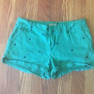 BeBop Sail Boat shorts