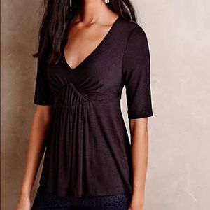 Anthropologie Tops - Anthropologie Deletta Pleated Empire Tee