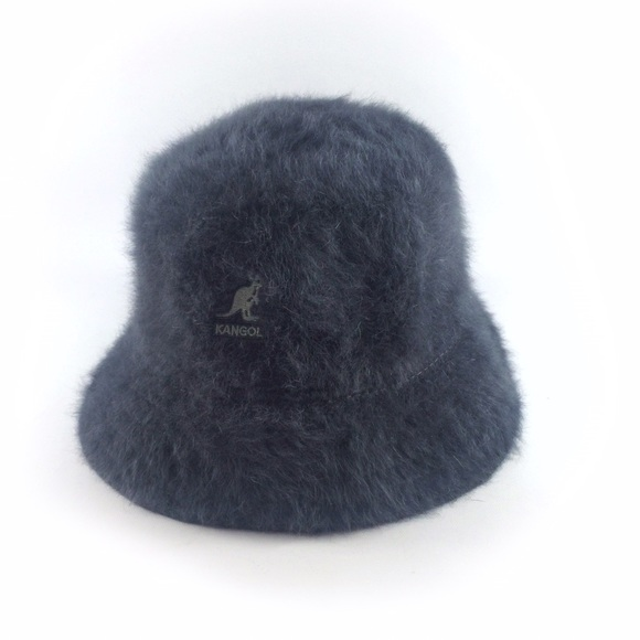 035b376d8a6cf Kangol Accessories - Kangol furgora grey furry bucket hat.