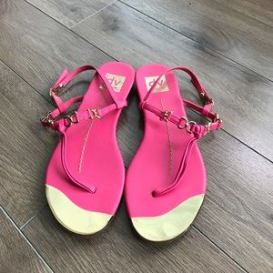 Dolce Vita Shoes - Dolce vita DV pink leather sandals