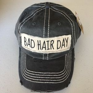 49 off accessories distressed bad hair day baseball hat