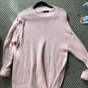 Urban outfitters pink sweater dress- size M