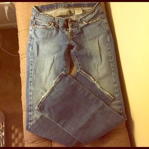 Size 24 short lucky jeans