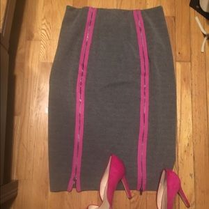 hm-moden Dresses & Skirts - Unique pencil skirt with zippers