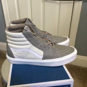 a679b11f86a8 Vans Shoes - Vans Sk8-Hi Lite LX (Leather) Moon Rock  Mrshmlw