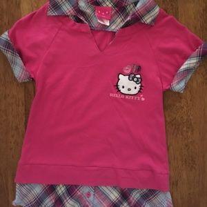 Hello Kitty Shirts & Tops - Girl's Hello Kitty Top