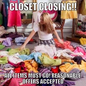 Jackets & Blazers - Closet will be closing! These items need to move!