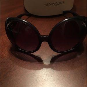 Yves Saint Laurent Accessories - Yves Saint Laurent Egypt Circular Sunglasses