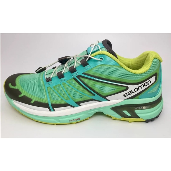 Salomon Wings Pro 2 Trail Running Shoes, size 8