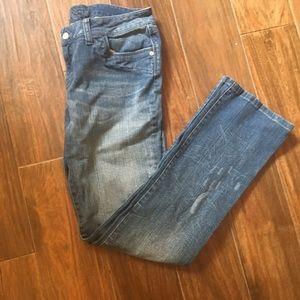 Delia's Denim - Delia's Morgan Semi-Distressed Skinny Jeans