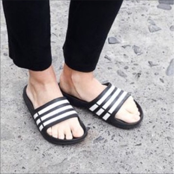 f63129bea Adidas Shoes | Slides Sandals New | Poshmark