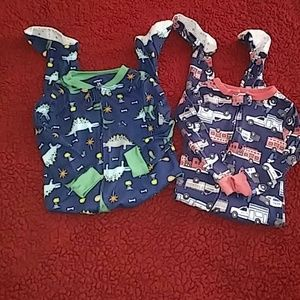 Carter's Other - 😴2 for 1 boys 24 months footie sleepers😴