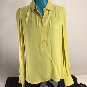 🆕Diane von Furstenberg long sleeve blouse sz 6