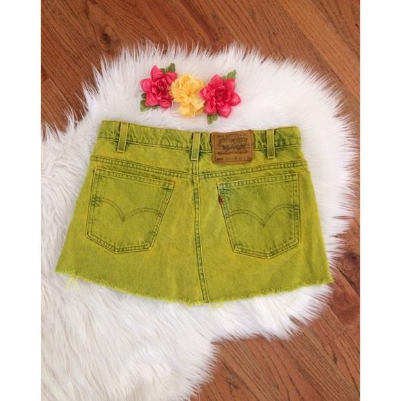 487dffb9c6 Urban Renewal Vintage Levi's Denim Mini Skirt 🌻. M_5908e6f46a5830743601003b