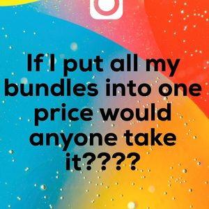 Bundles!!! Cheap